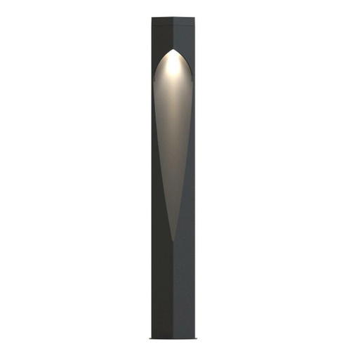Nordlux Concordia Anthracite With Clear Glass IP44 Bollard