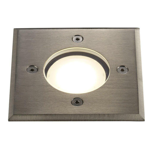 Nordlux Pato Squard Stainless Steel IP65 Spotlight