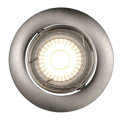 Nordlux Recess Brushed Steel 3 Pack Recessed Spotlight
