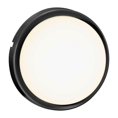 Nordlux Cuba Bright Black IP54 Ceiling Light
