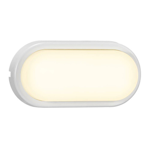 Nordlux Cuba Bright Oval White IP54 Wall Light