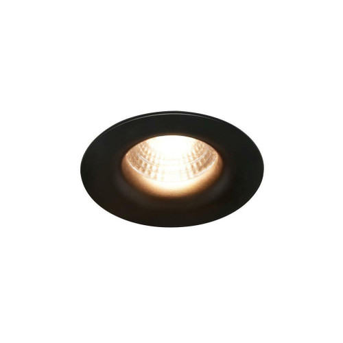 Nordlux Starke Black Dimmable Recessed Downlight