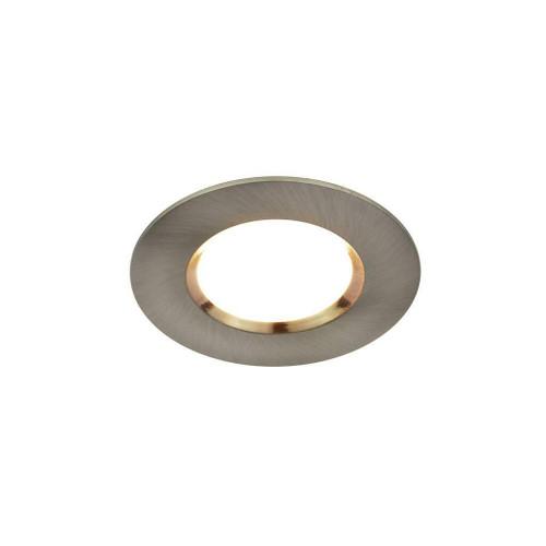 Nordlux Siege Nickel IP65 LED Recessed Downlight