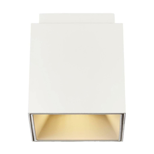 Nordlux Ethan White with Gold Reflector Surface Downlight