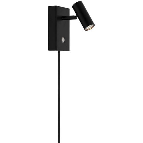 Nordlux Omari Black Adjustable Wall Light