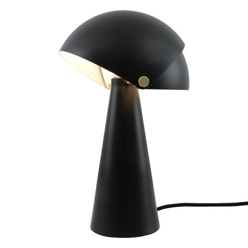 DFTP Align Black Finish Metal Table Lamp