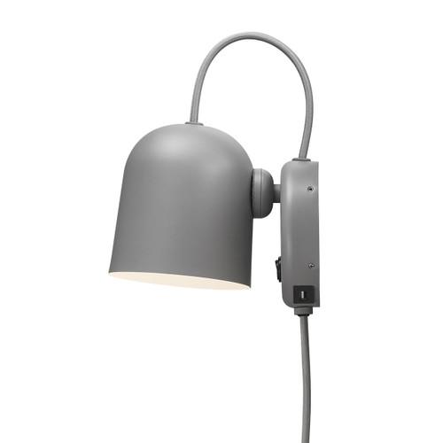 DFTP Angle Grey Adjustable Wall Light With USB