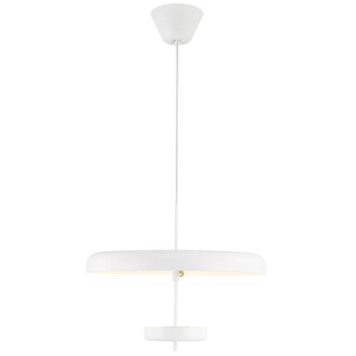 DFTP Moble White Aluminum Pendant Light