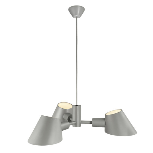 DFTP Stay 3 Light Grey Pendant Light