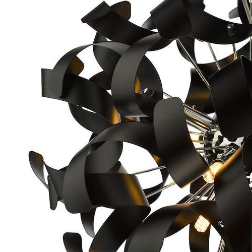 Dar Lighting Swash Pack Of 20 Ribbons For SWA1350-SP - Black