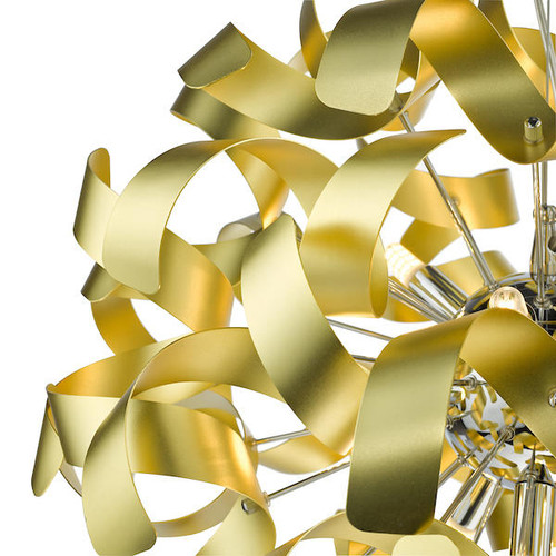 Dar Lighting Swash Pack Of 20 Ribbons For SWA1350-SP - Gold