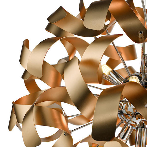 Dar Lighting Swash Pack Of 20 Ribbons For SWA1350-SP - Copper