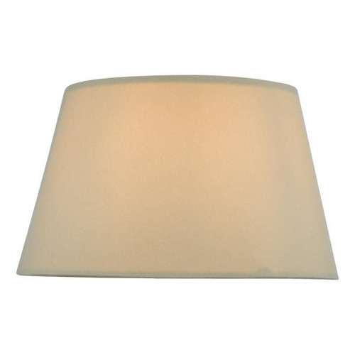 Dar Lighting Zira 18cm Taupe Faux Silk Candle Clip Shade Only