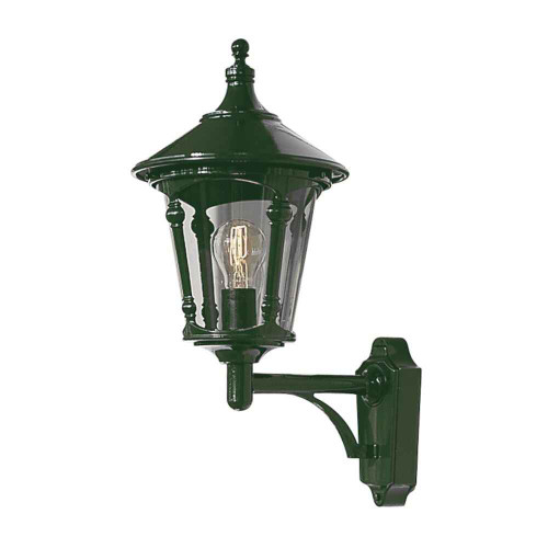 Virgo Green Up Aluminium Wall Light