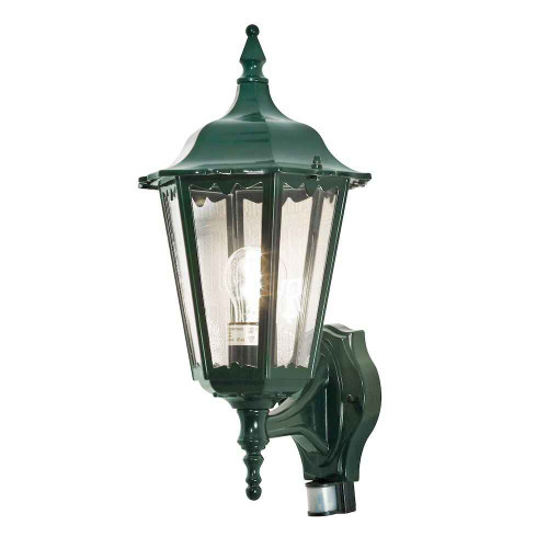 Firenze Up PIR Green Aluminium Wall Light