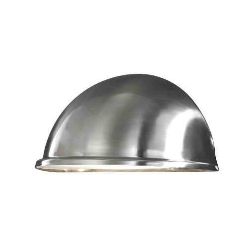 Torino Stainless Steel with Clear Glass Wall Light