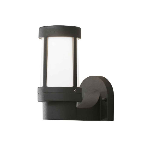 Siena Black Aluminium Wall Light