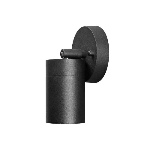 Modena Black Aluminium Adjustable IP44 Wall Light