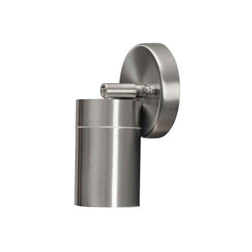 Modena Stainless Steel Adjustable IP44 Wall Light