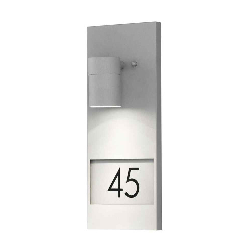Modena House No. Grey Aluminium Wall Light