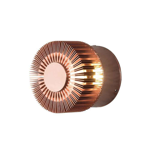 Monza Copper Aluminium LED Wall light