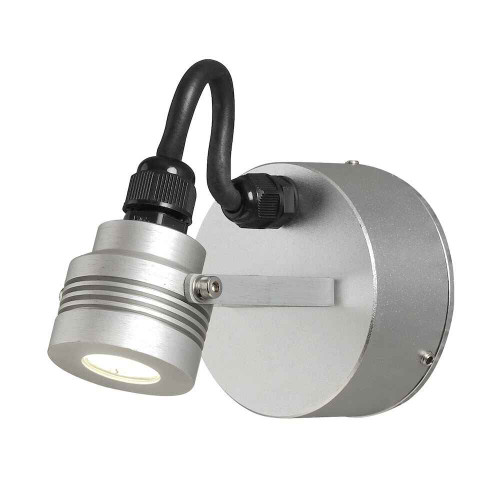 Monza Anodised Aluminium LED Wall Light