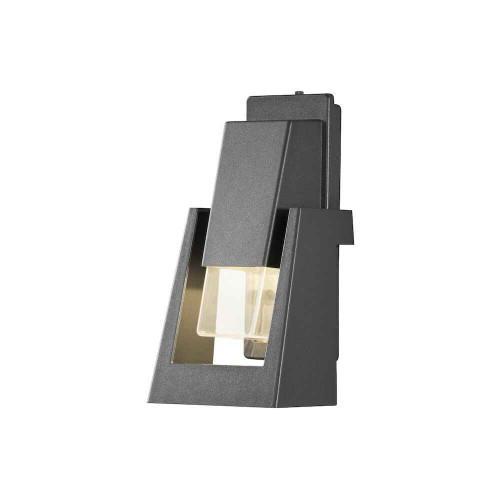 Potenza Anthracite Grey Aluminium Single LED Wall Light