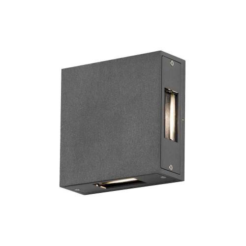 Cremona Anthracite Grey Aluminium LED Wall Light