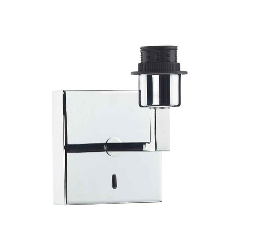 Anvil Fixed Arm Polished Chrome Wall Light Base Only