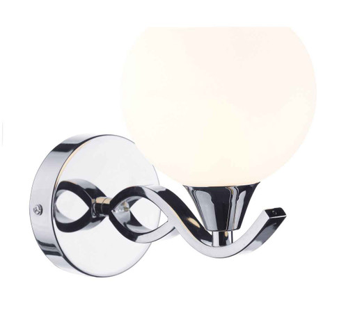 Aruba Polished Chrome Single Wall Light