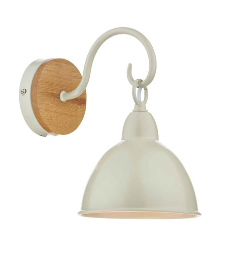 Blyton 1 Light with Painted Metal Shade Wall Bracket