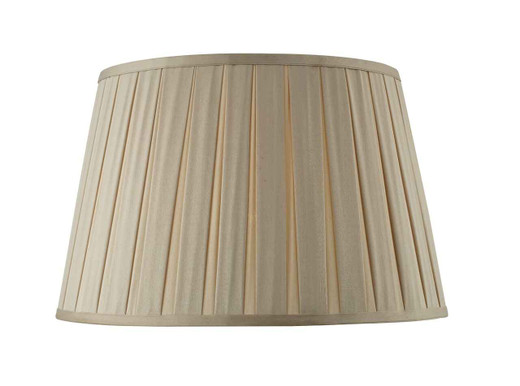 Degas 40cm Faux Silk Tapered Drum Shade Only