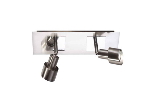 Futura 2 Light adjustable Spot Bar with Switchs Wall Light