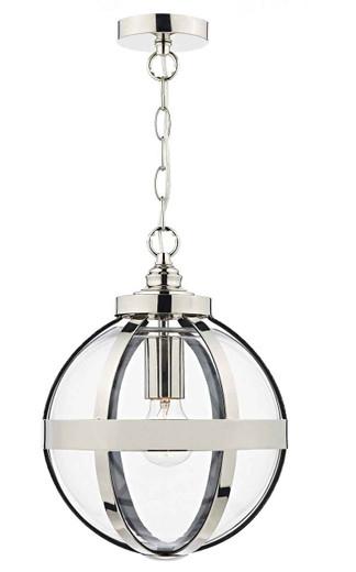 Heath Polished Nickel Pendant Light