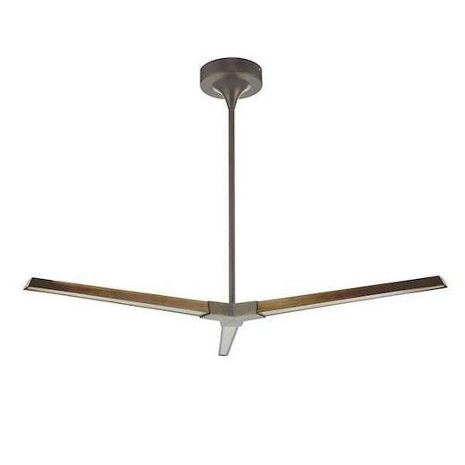 Rotor 3 Light Bronze LED Pendant Light
