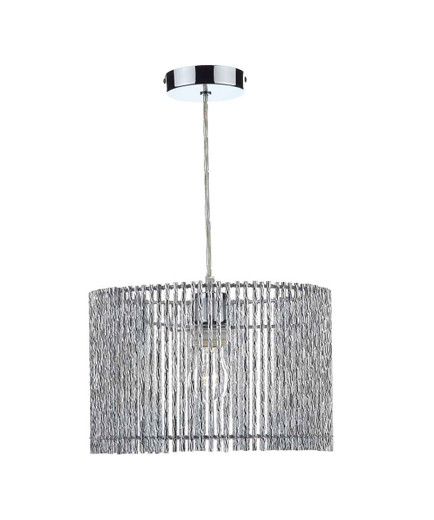 Nest Polished Chrome Non Electric Easy Fit Pendant Light