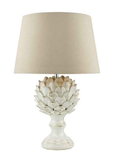 Orris Antique Cream Table Lamp Base Only