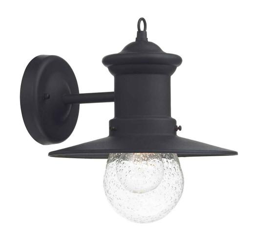 Sedgewick 1 Light Black Down Facing IP44 Outdoor Lantern