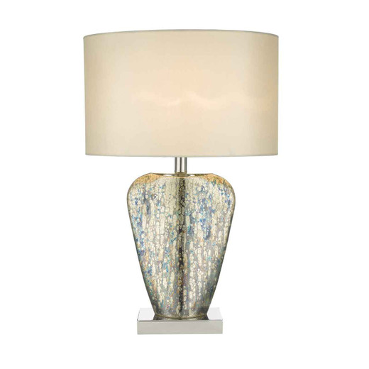 Syracuse Mercury Gold with Shade Table Lamp