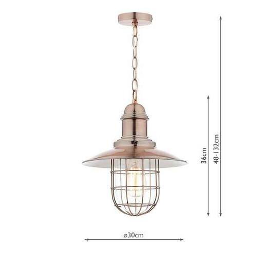 Terrace Copper Pendant Light