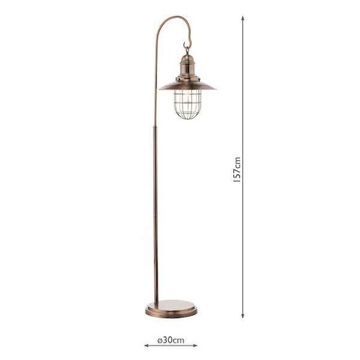 Terrace Copper Floor Lamp