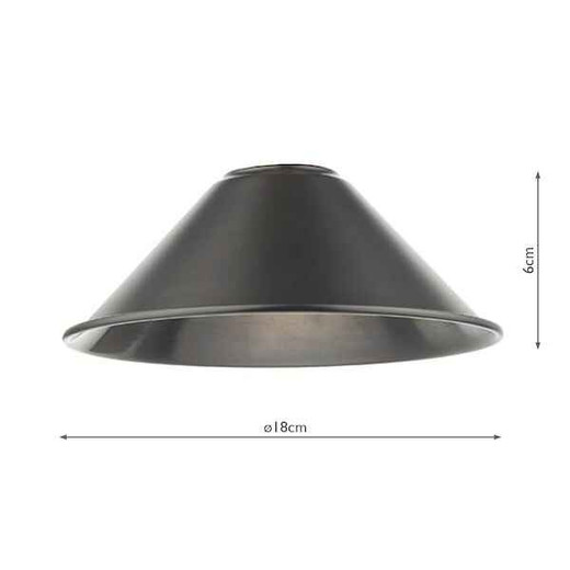 Accessory Metal Antique Pewter Shade Only