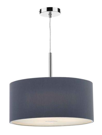 Zaragoza 3 Light 60CM Grey Pendant Light