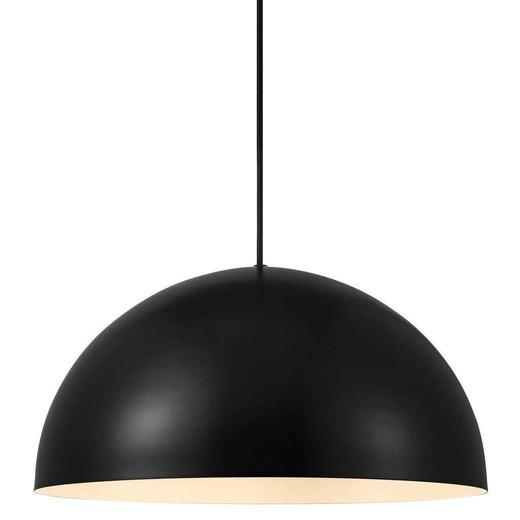 Ellen 40 Black with Shade Pendant Light