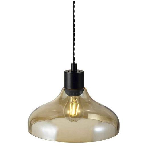 Alrun Amber Glass Pendant Light