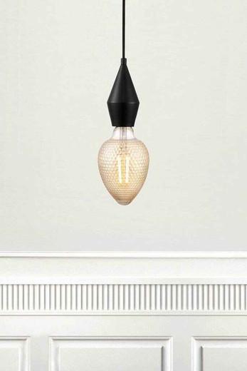 Aud Black Lighting Suspension for Pendant Light