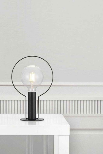 Dean Halo Black Table Lamp