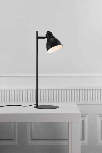 Mercer Black with Shade Table Lamp