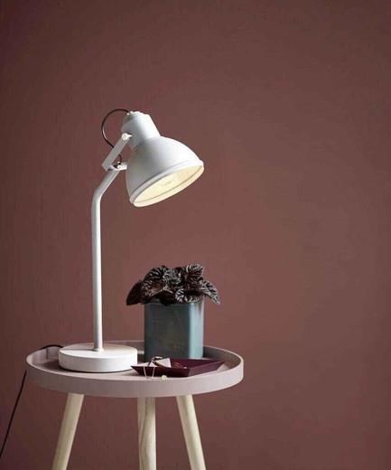 Aslak Matt White Adjustable Task Lamp