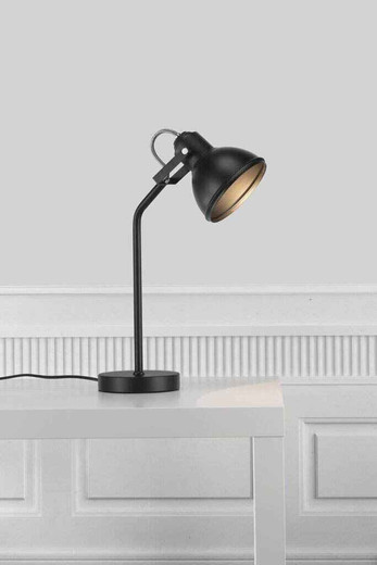 Aslak Black Finish Adjustable Task Lamp